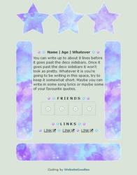 F2U NON-CORE // 002 Galaxy Sky by WebsiteGoodies