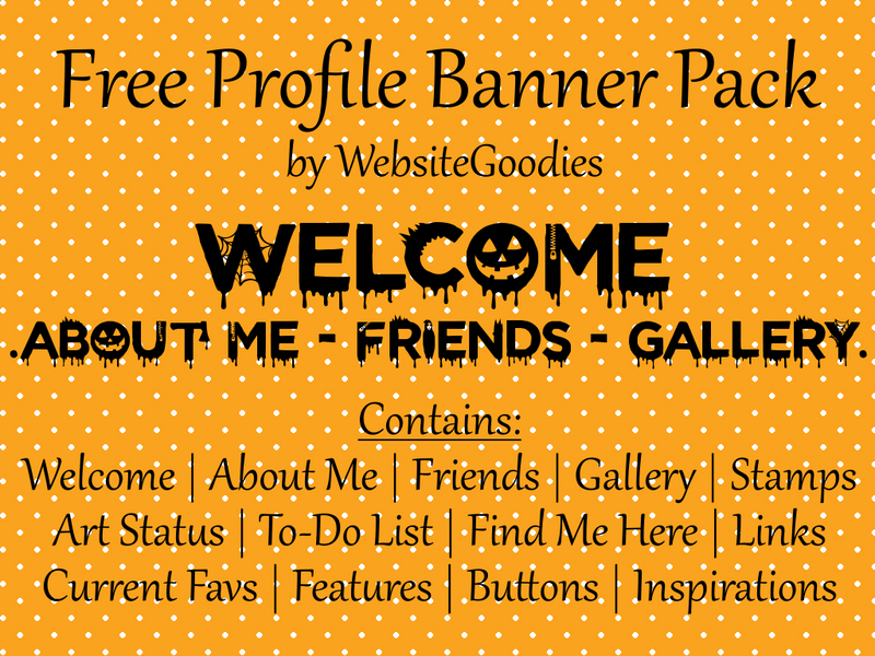 F2U Profile Banners // 001 Halloween by WebsiteGoodies