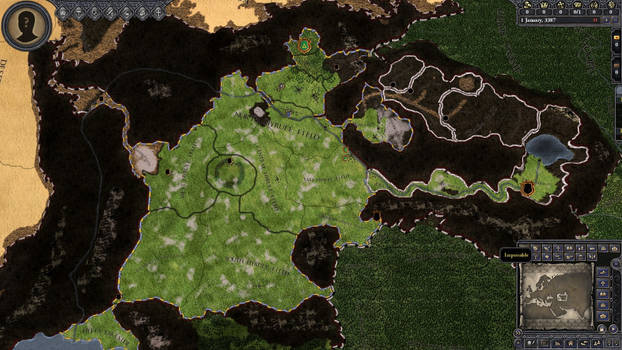 Hyrule Kings Project Ingame Map