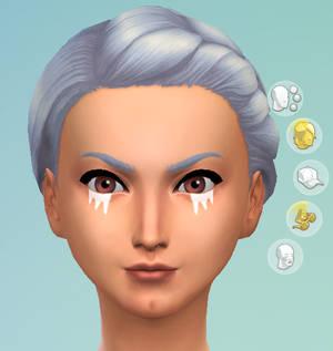 Sims 4 CC: Ocarina of Time Impa Eyeliner