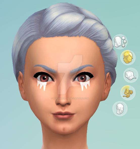 Sims 4 CC: Ocarina of Time Impa Eyeliner by Nukumnehtar