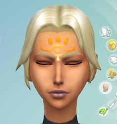 Twilight Princess Fanadi's Sheikah Facepaint