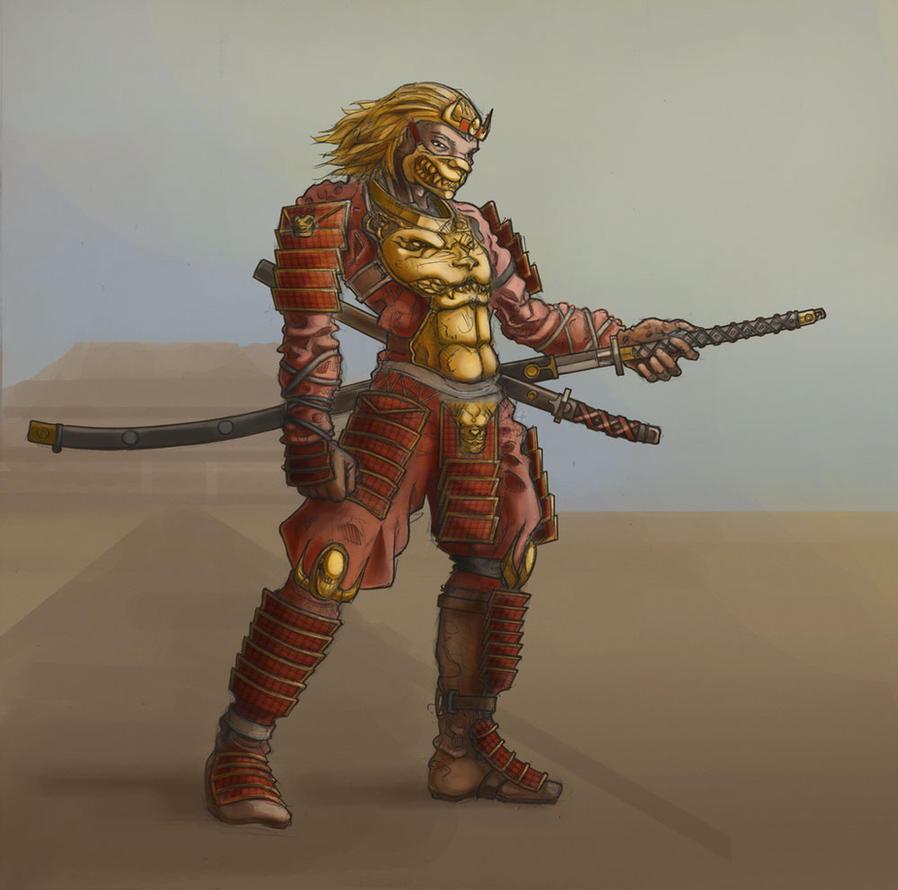 Lion Warrior by Spacesam on DeviantArt