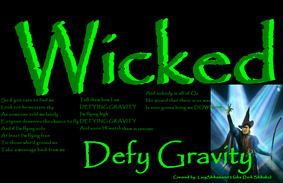 Wicked wallpaper defying gravity wicked defying gravity02 by