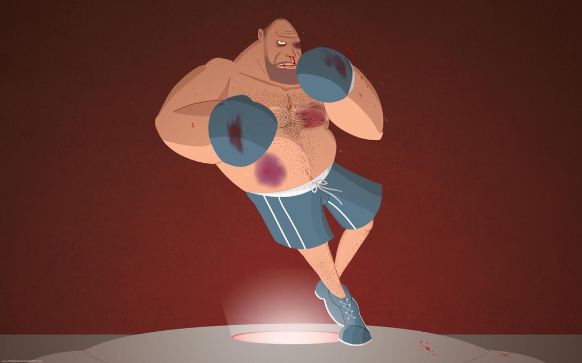 TF2 Heavy Boxing Wallpaper by SleepDepJoel