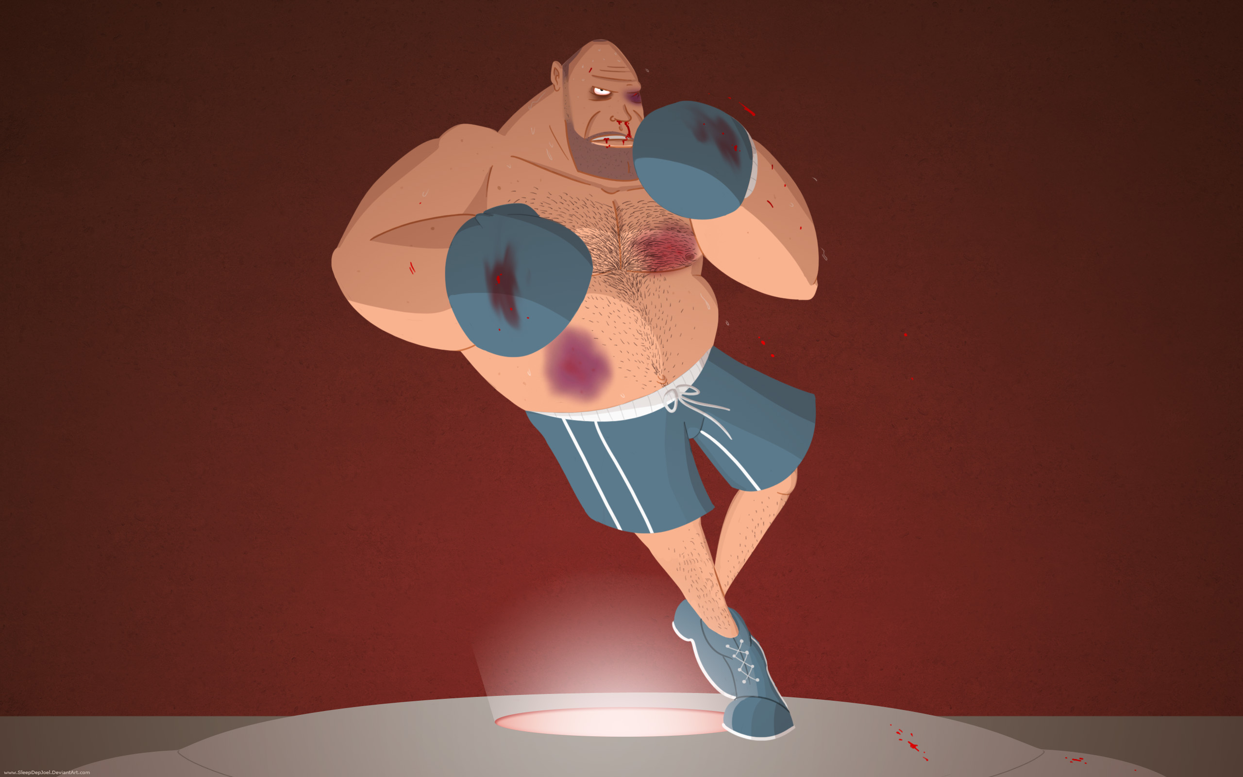 TF2 Heavy Boxing Wallpaper by SleepDepJoel