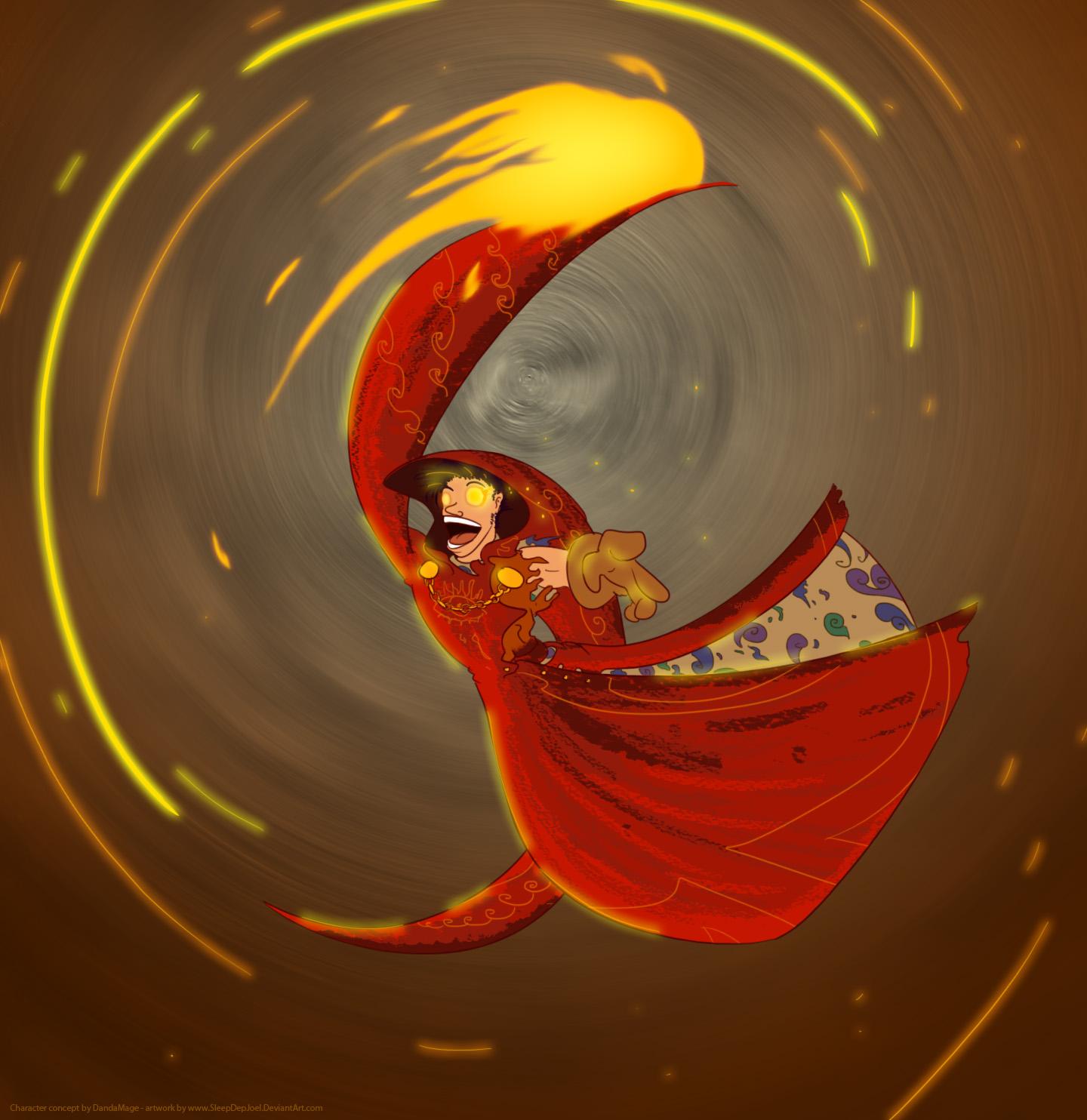 Danda Mage by SleepDepJoel