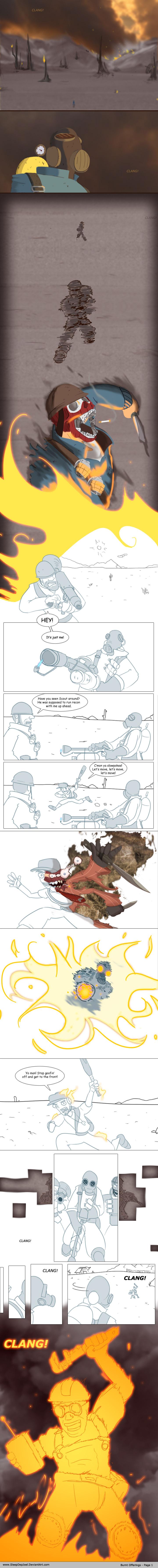 Burnt Offerings, Page 1 by SleepDepJoel