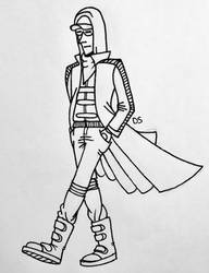 Dystopian dude by awkwardartist22