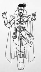 Doctor Strange concept by awkwardartist22