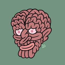 Brainy Dude by awkwardartist22