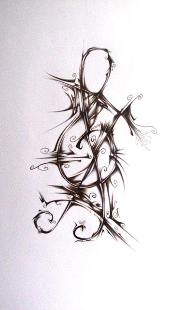 Татуировки на музыкальные темы