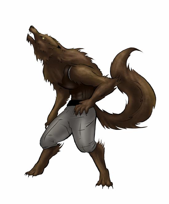 Werewolf by Flamespun
