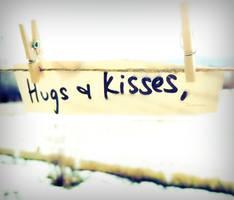 Hugs and Kisses by KespeadooksitAgain