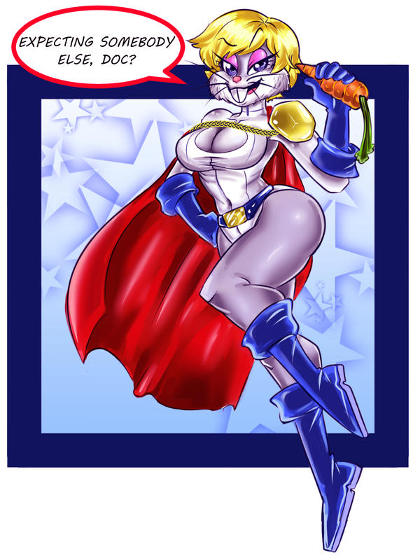 Power Bunny! by ONATaRT