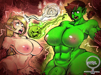 orc and elf swap 1 by ONATaRT