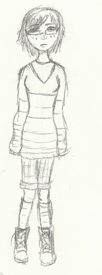 Portrait O' Self by LadyFlitter