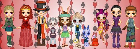 Wonderland Adventures by LadyFlitter
