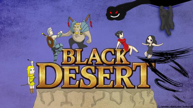 Black Desert Characters Wallpaper