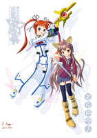 Anime Invasion - Nanoha and Taiga by Red-Romanov