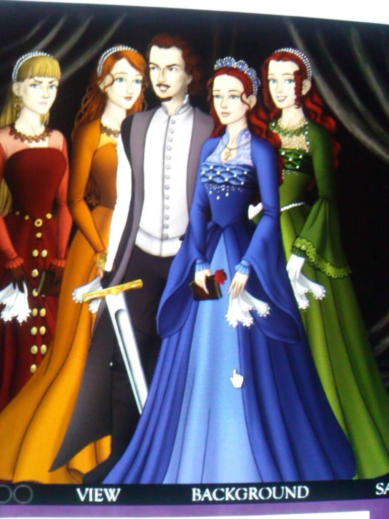 Corizon: Corbanian with the four sisters by Casmie