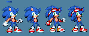 Personal Style Sonic Sprite