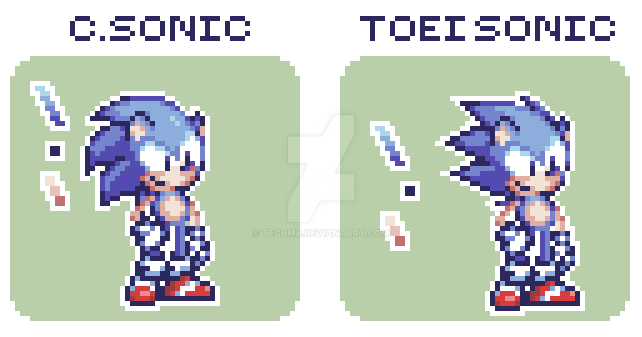 Toot Toot Sonic Warrior by TechM8