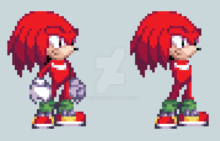 Dream Team and Knuckles by TechM8