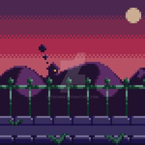 Spooky Background by TechM8