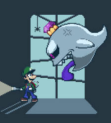Luigi's Mansion Portrait