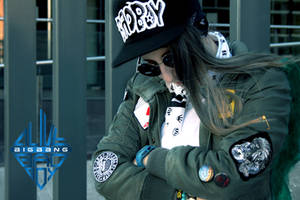 BigBang G-Dragon Bad Boy Cosplay