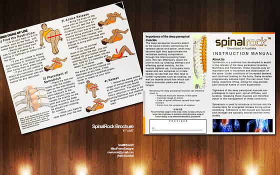 Mock Brochure for SpinalRock