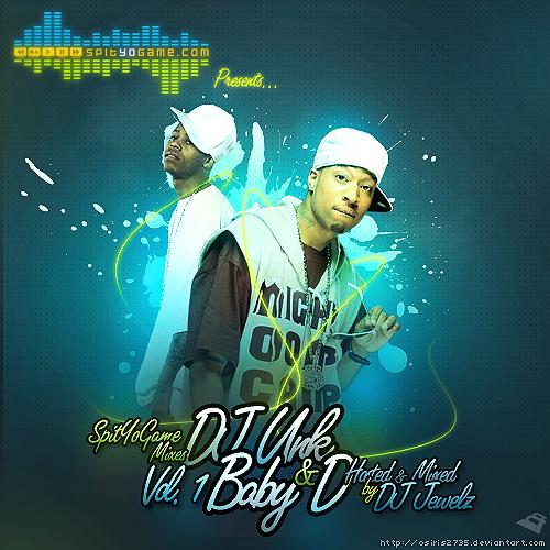 DJ Unk n Baby D Mixtape Cover by Osiris2735