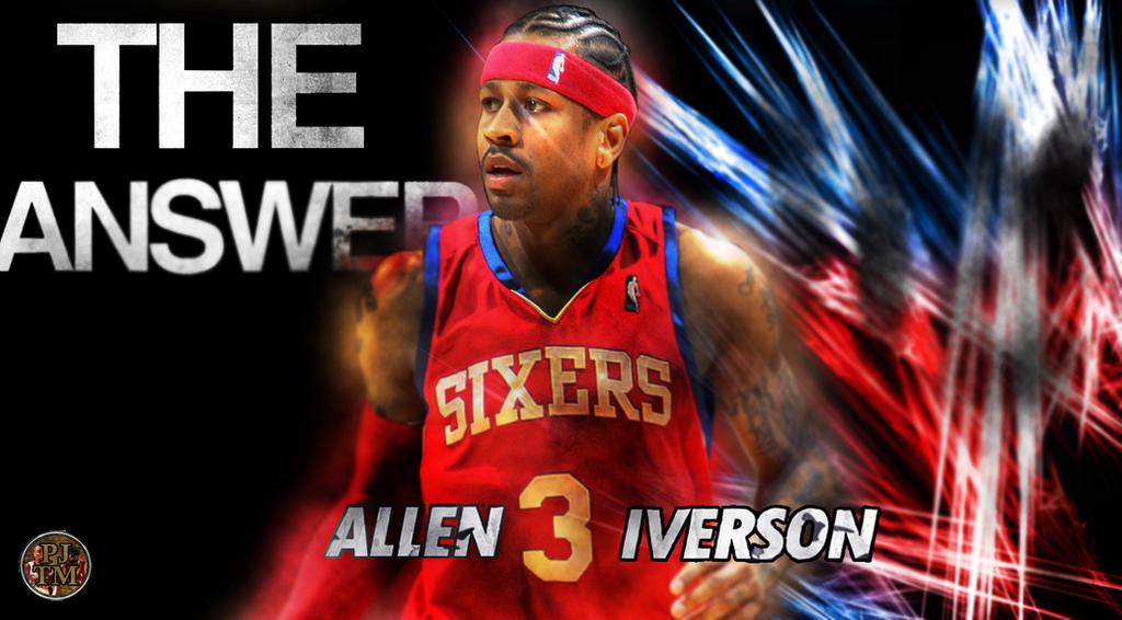 Allen Iverson : The Answer by PJosull on DeviantArt