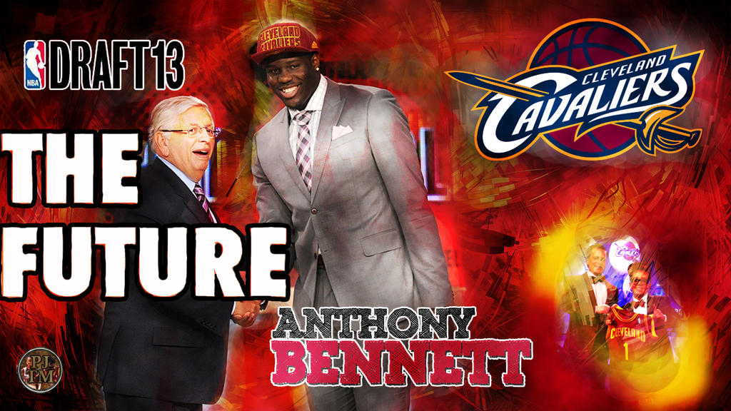 Anthony Bennett No.1 by PJosull