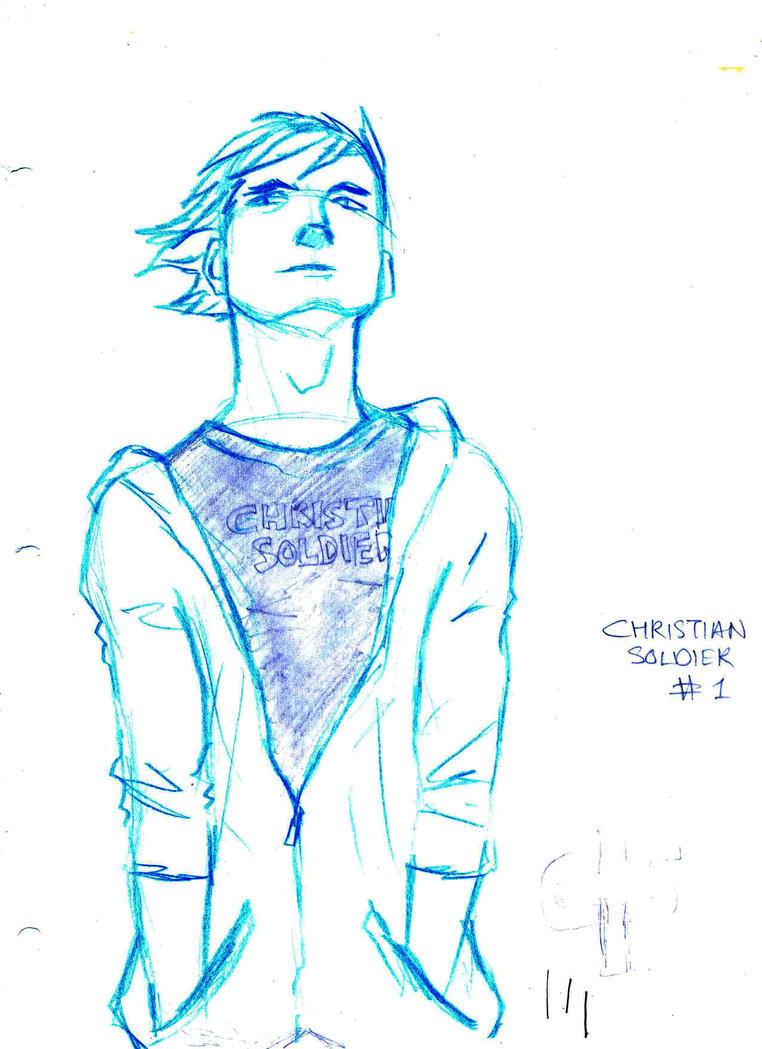 Christian Soldier sketch 1 by Seventhdaysoldier