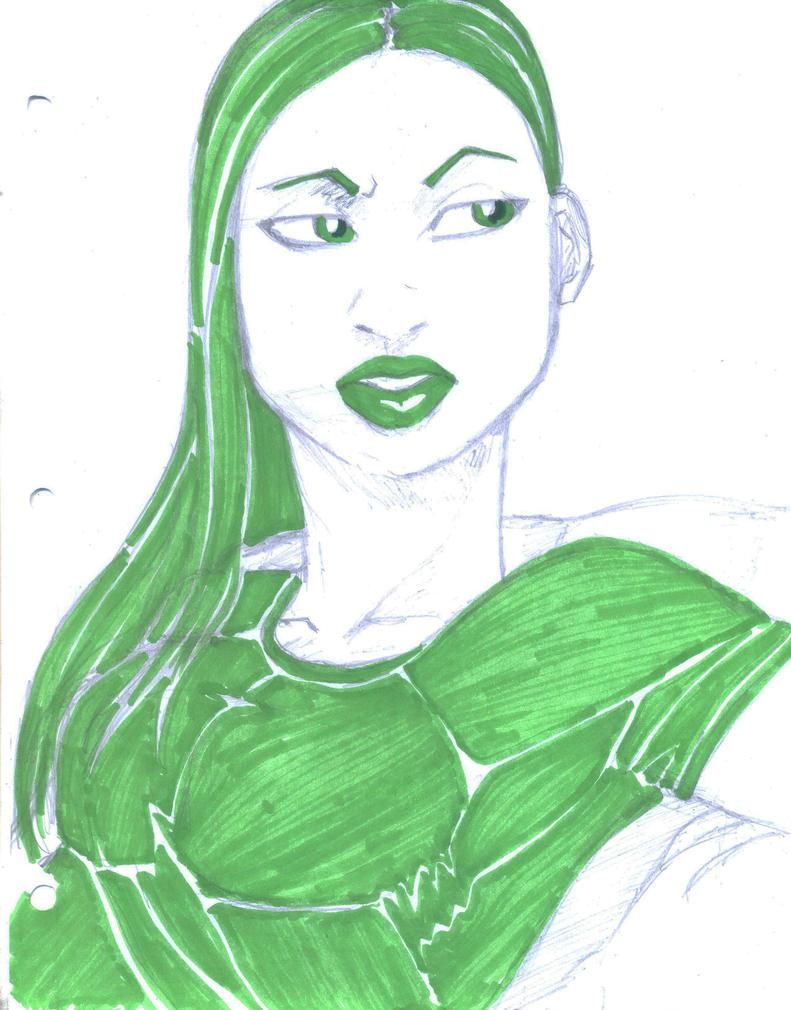 green by Seventhdaysoldier