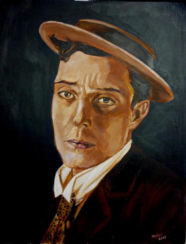 Buster Keaton by BryanArtist