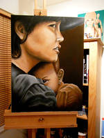 WIP1 Silent witness by M--Art