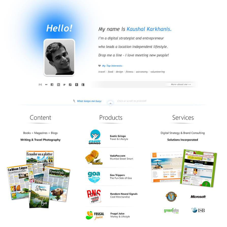 Personal Web Page by skinnyfatso