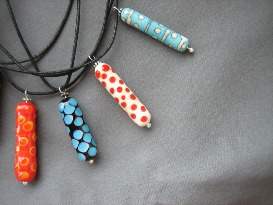 Glass bead pendants 2 by dizayn on deviantart glass bead pendants 2 by dizayn aloadofball Choice Image