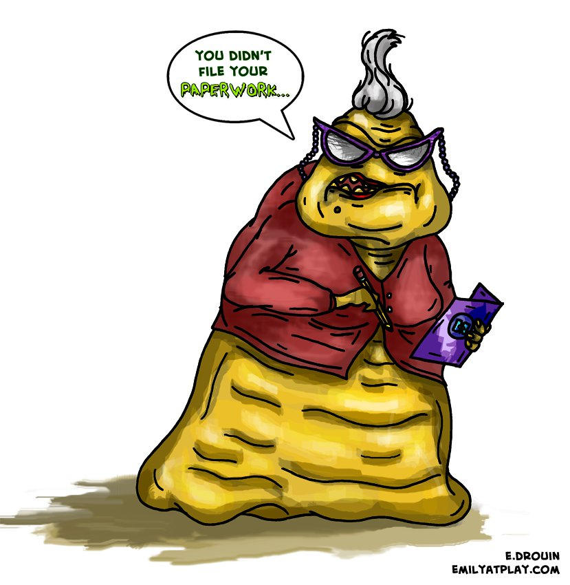 Roz From Monsters Inc By Emilyatplaynh On Deviantart
