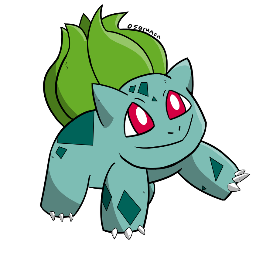 Bulbasaur Pokemon Speedpaint Medibang Paint 594657164