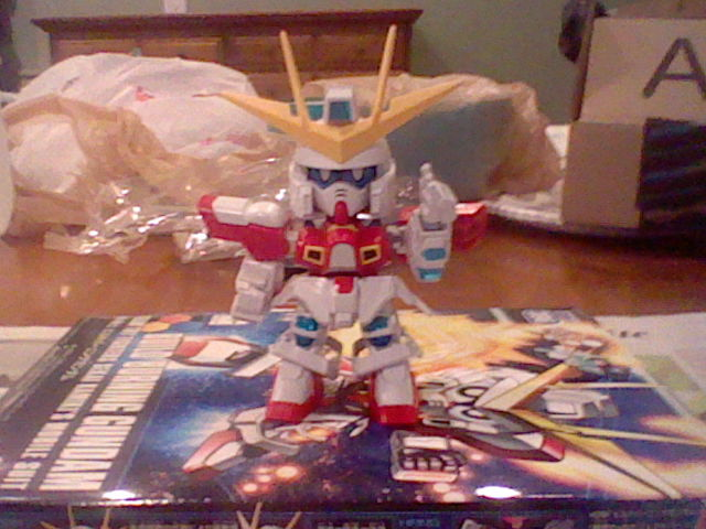 SD Build Burning Gundam by Solo3511
