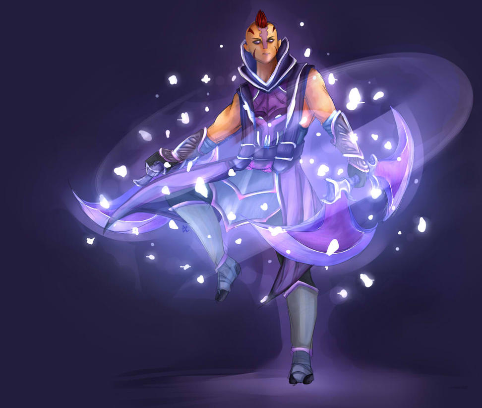 DOTA 2 - Anti-Mage by domclw on DeviantArt