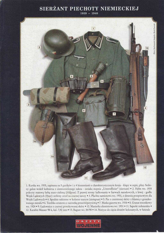 German Infantry Sergeant, 1939-1940 (1941) by AnAspieInPoland