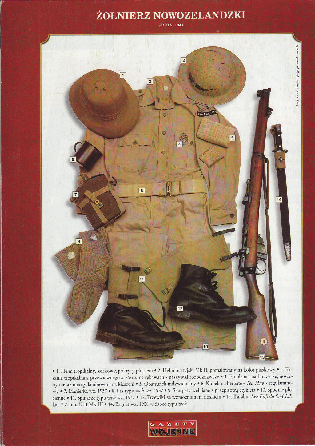 New Zealand Infantryman, Crete 1941 by AnAspieInPoland