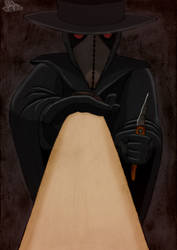 Plague Doctor treating You by AnAspieInPoland