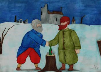 Valiant Hearts - Christmas Truce 1914 by AnAspieInPoland