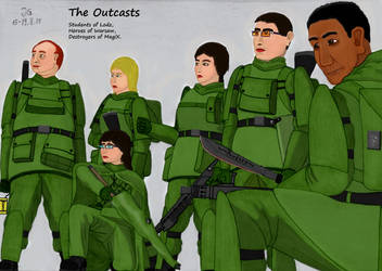 The Outcasts - Together in Arms by AnAspieInPoland